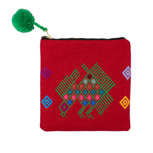 Mayan Gods Small Pouch