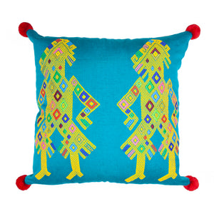 Mayan Gods Cushion