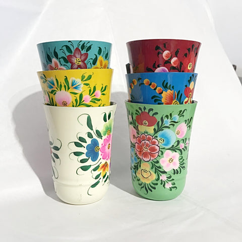 Hand-painted Mini Cups
