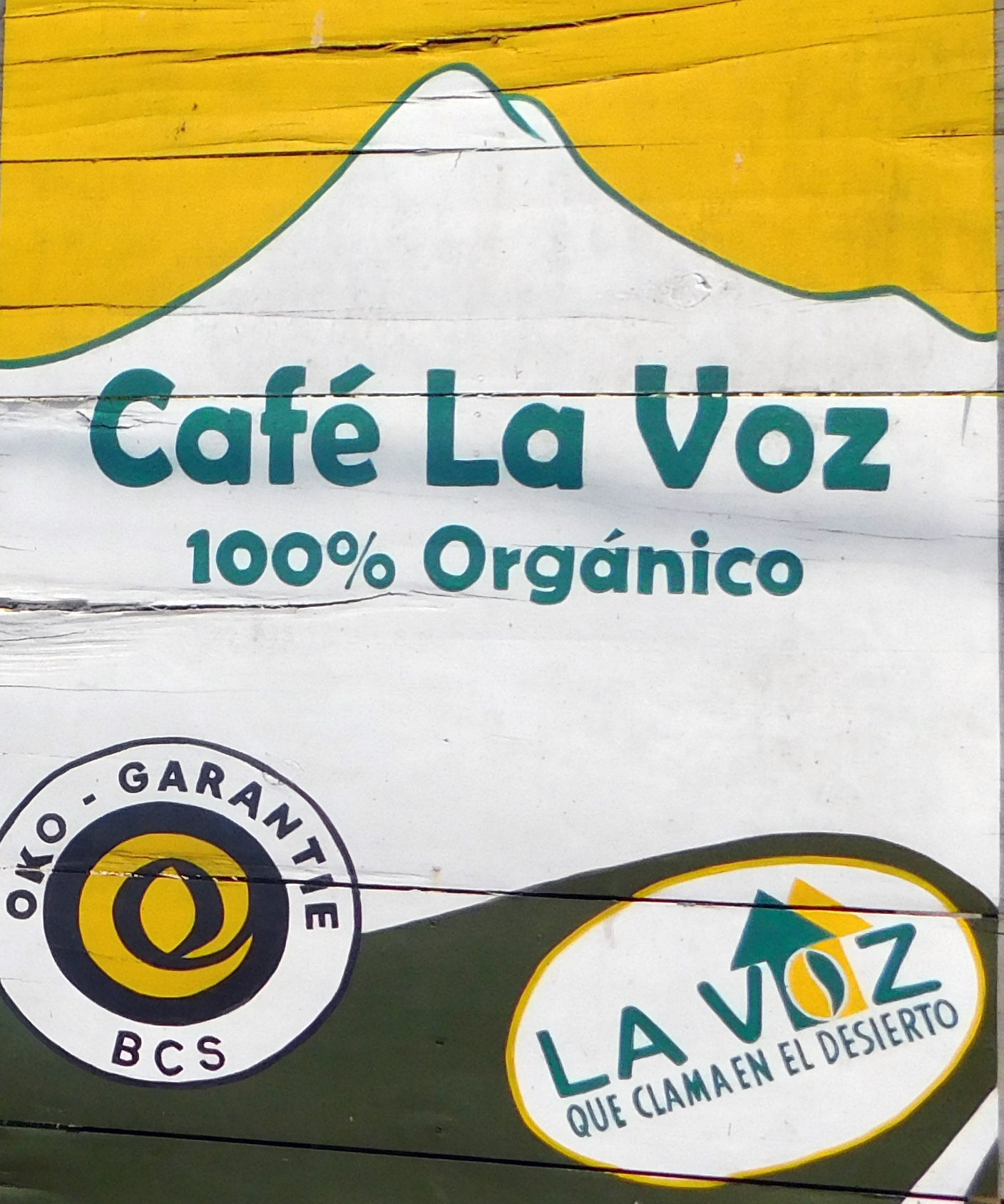 La Voz Coffee Whole Bean 1 Pound