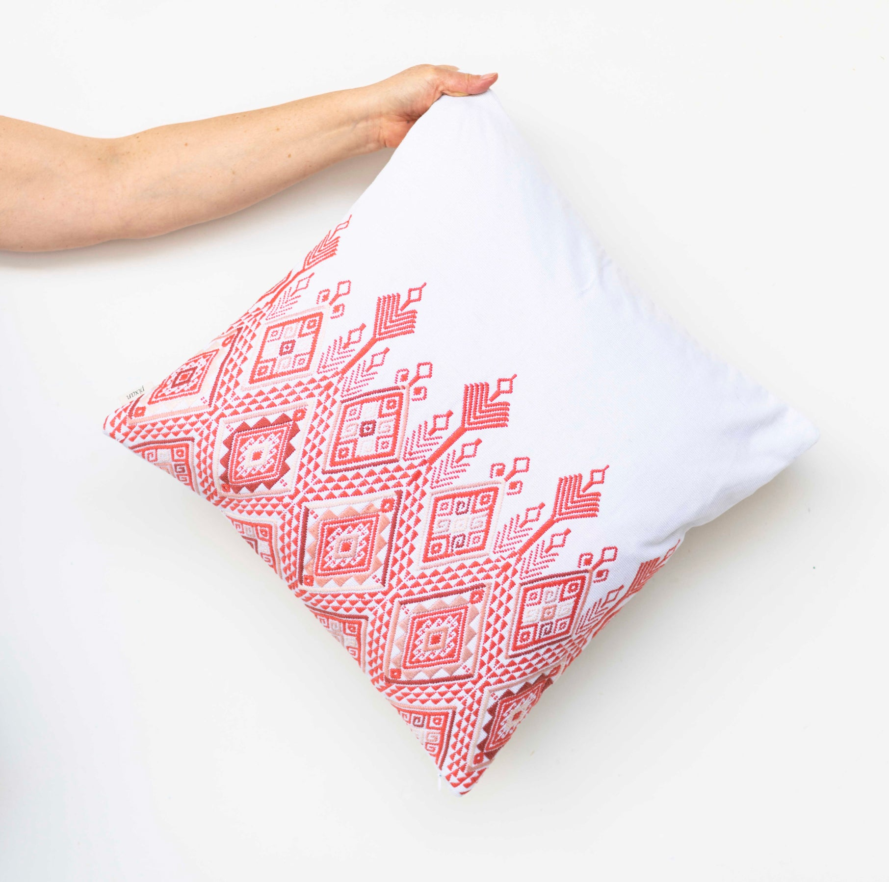 Coral Atitlán Pillow Case