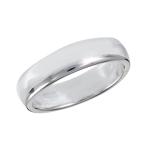 Classic Silver Band Ring