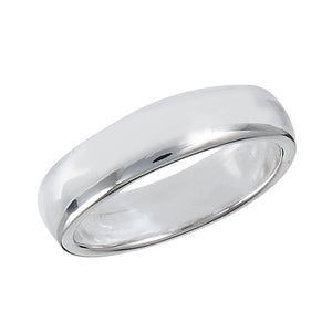Classic Wedding Silver Band Ring
