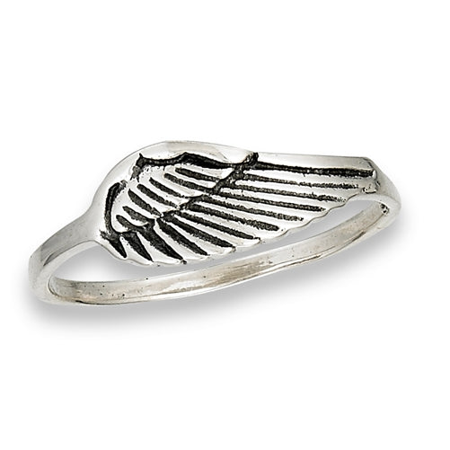 Sterling Silver Wing Ring