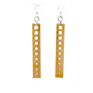 Chic Circle Bamboo Earrings