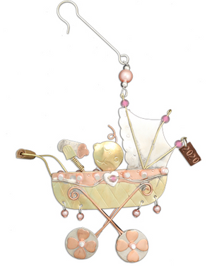 Baby Buggy Ornament