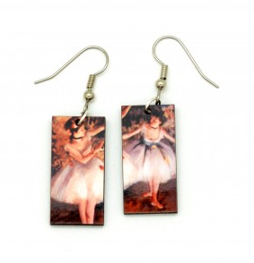 Art Painting Earrings
