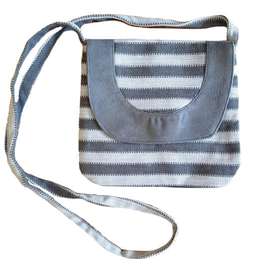 French Flap Natural Dye Crossbody Purse