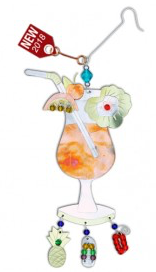 Tropical Drink Ornament