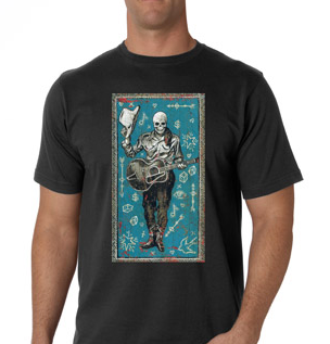 Cowboy Skeleton T-Shirt