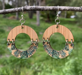 Jungle Bamboo Earrings