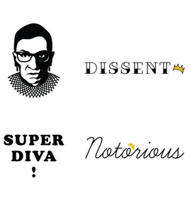 RBG Supreme Ink Temporary Tattoos