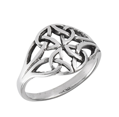 Four Trinity Knot Ring