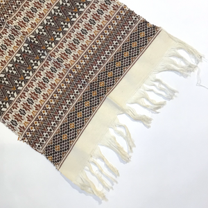 Guatemalan Table Runner/Wall Hanging with Fringe