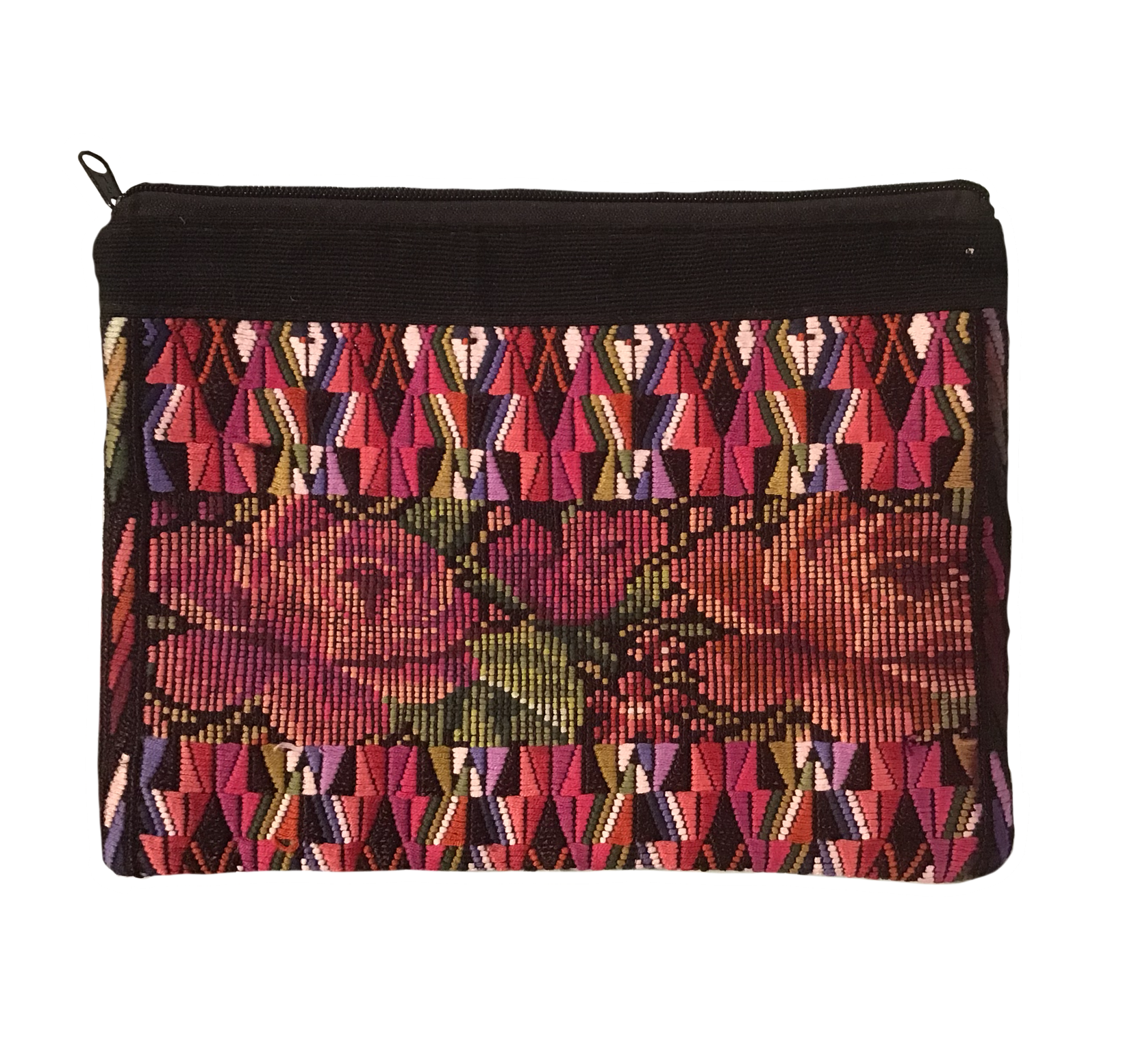 Woven Roses Cosmetic Bag