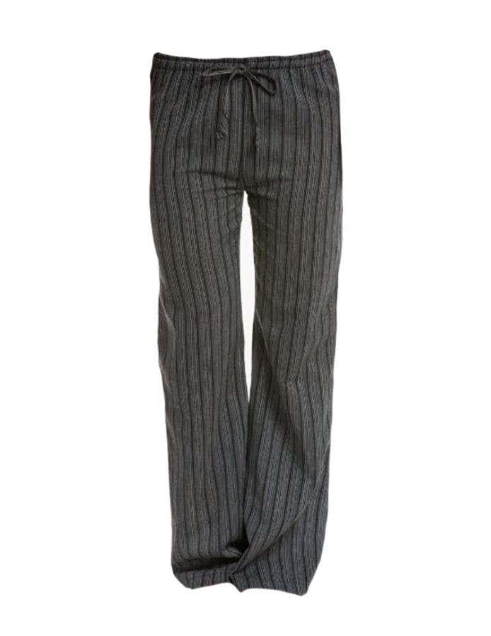 Cotton Striped Lounge Pants