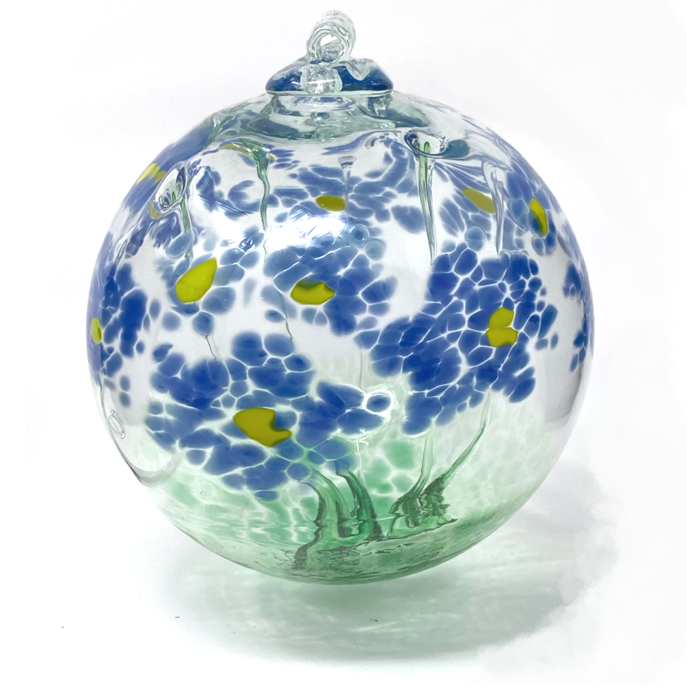 Blossom Ball Glass Ornament 6