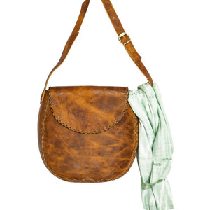 MARINA LEATHER CROSSBODY BAG
