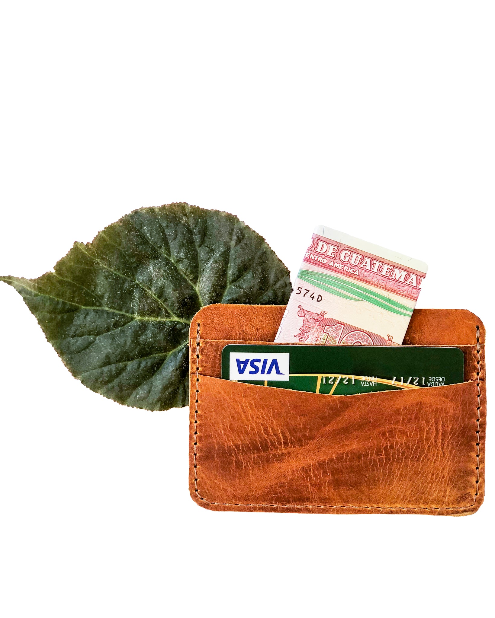 Leather Credit Card Holder/Wallet