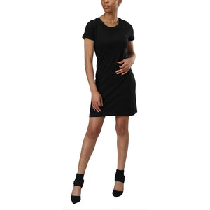 Organic Cotton Short Sleeve Tee Shirt Dress