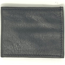 Load image into Gallery viewer, Mens Black Leather Wallet