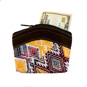 Recycled Coin Purse Assorted Colors