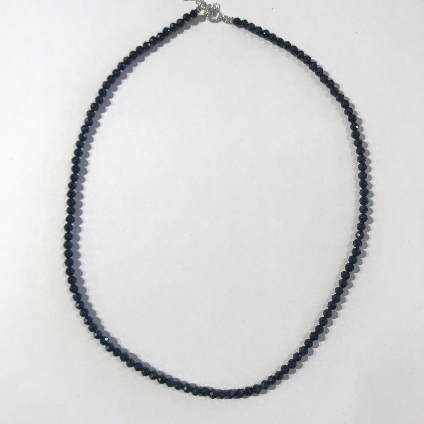 Beaded Sapphire Necklace