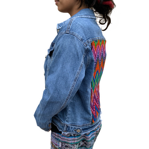 Dynamic Denim Jacket