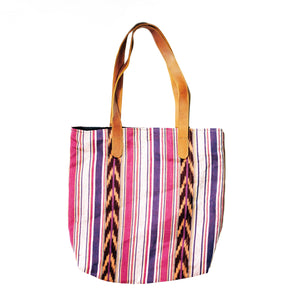 Vertical Pattern Tote Bag