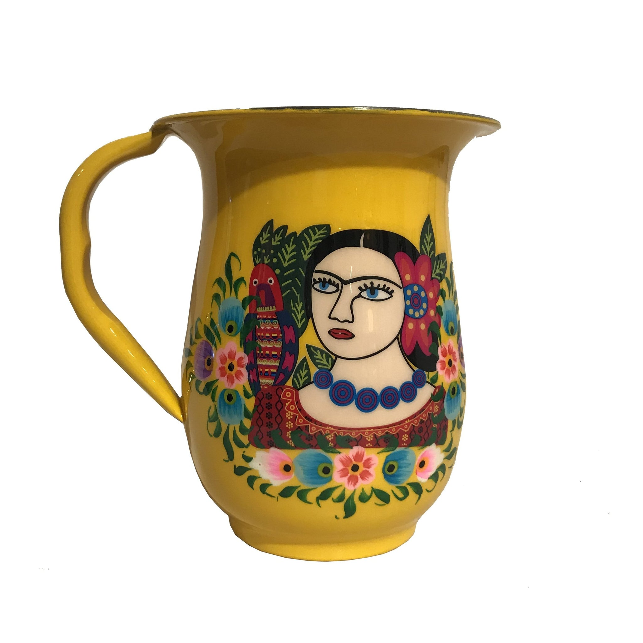 Hand-painted Frida Jugs