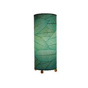 Cocoa Leaf Cylinder Lamp