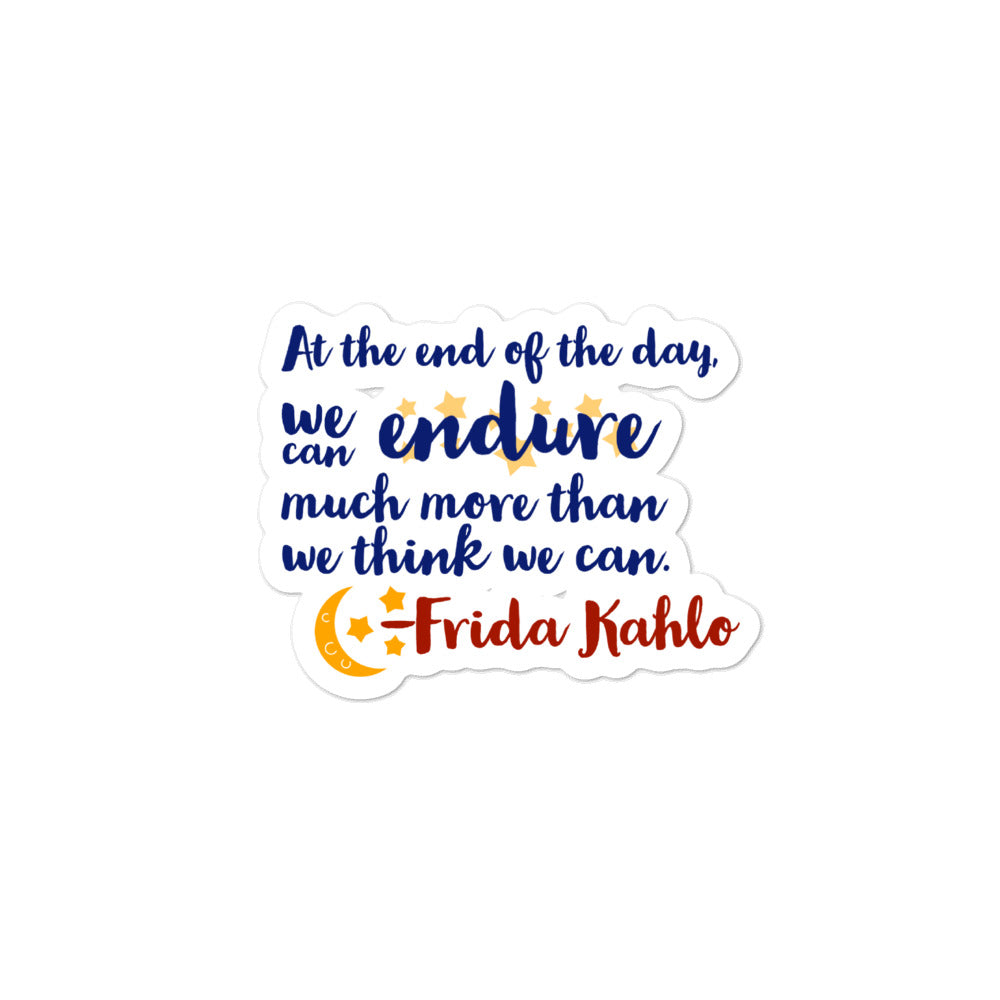 Frida Quote Stickers