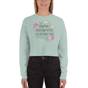 Indigenous Peoples' Day Crop Sweatshirt