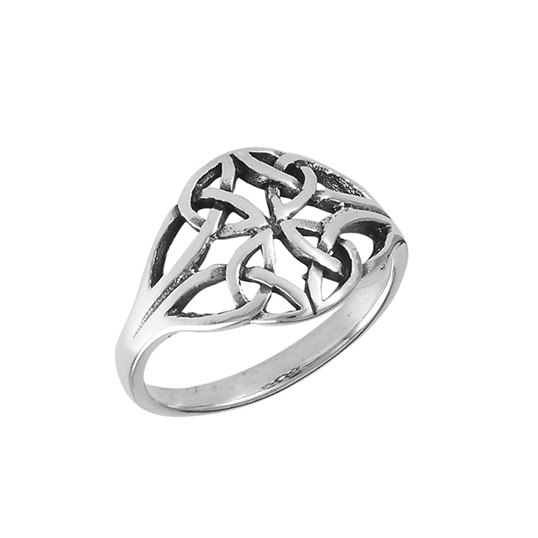 Quaternary Knot Ring