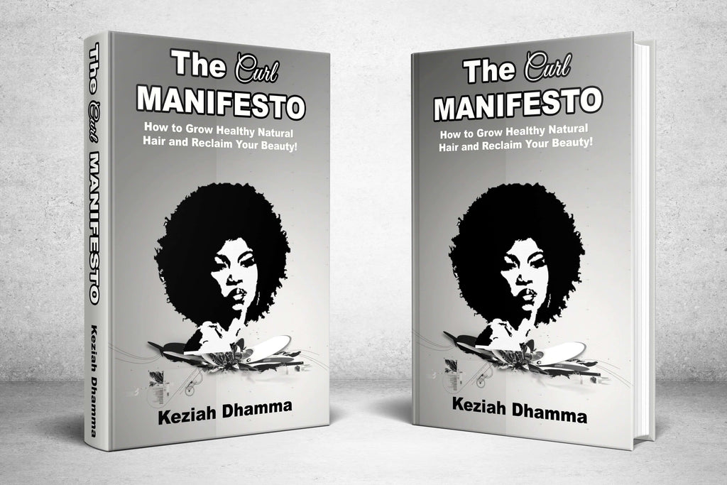 Pre-Order 'The Curl Manifesto. How To Grow Healthy Natural Hair & Reclaim Your Beauty' Ebook & Audiobook
