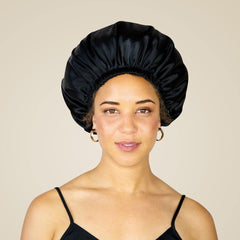 Satin Lined, Night-Time Bonnets