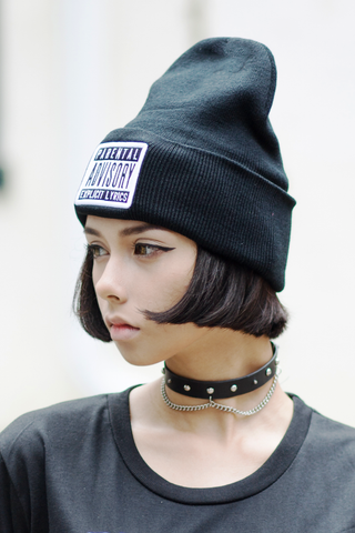 Parental Advisory Beanie