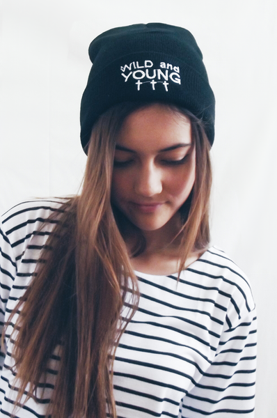 Wild and Young Beanie