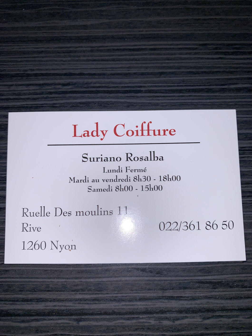 Lady Coiffure