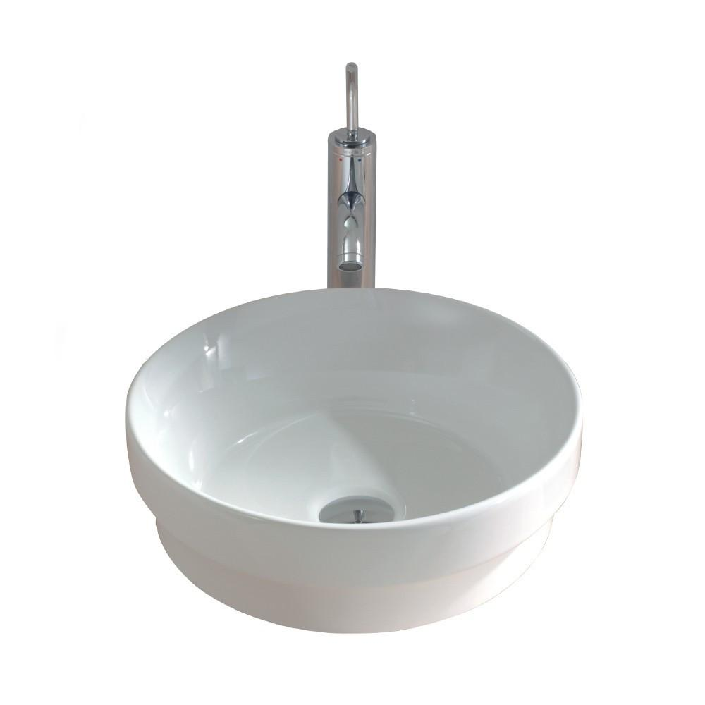 Gala Circle Inset/Above Counter Basin 04330