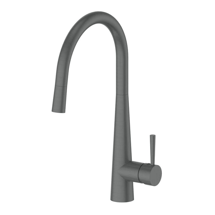 Galiano Pull Down Sink Mixer Gun Metal Dual Function