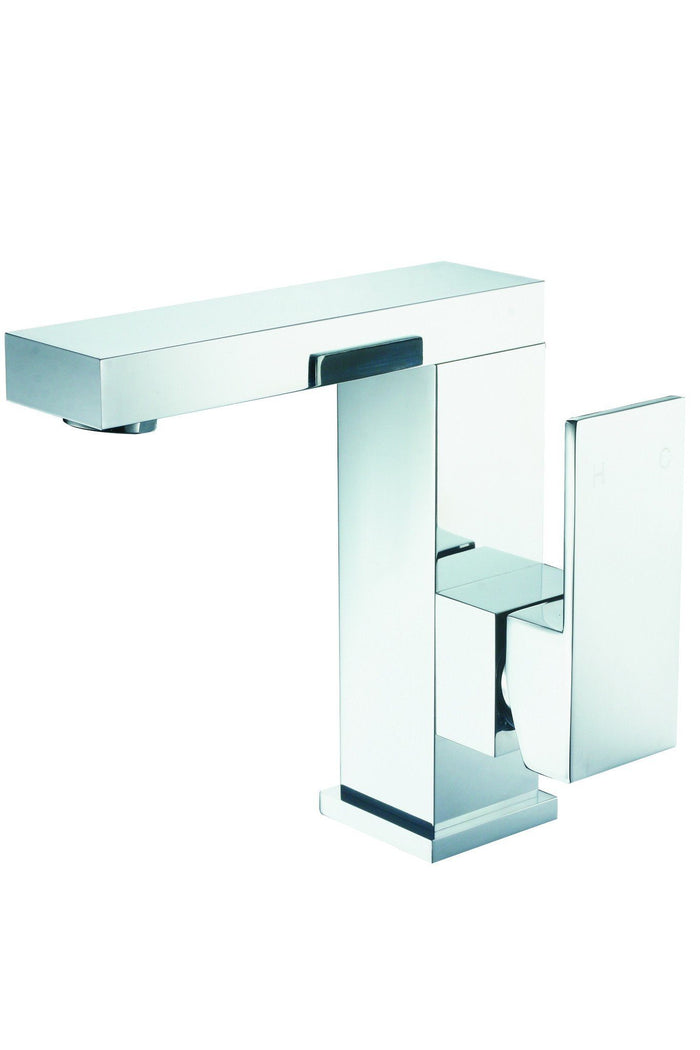 Jet Gooseneck Swivel Basin Mixer (Chrome)