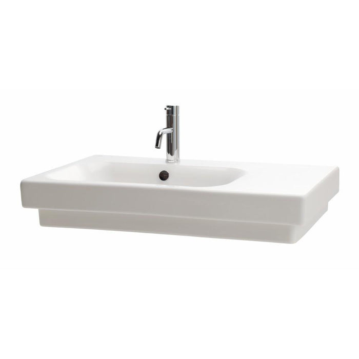 Flex 80 Wall Basin Asymmetric Left Basin
