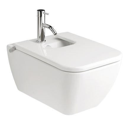 Emma Square Wall Hung Bidet