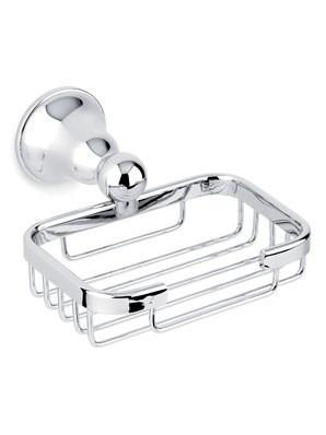 Cascade Soap Basket Chrome