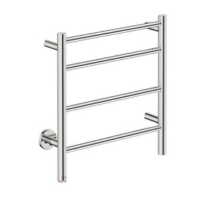 Natural 4 Bar 500 Straight Heated Towel Rail