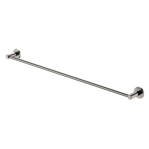 Kaya Single Towel Rail 900 (Brushed Nickel)