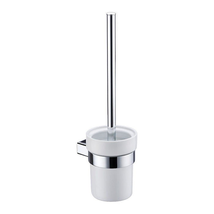 Eneo Toilet Brush with Ceramic Holder (Chrome)