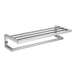 Streamline Eneo Towel Rack with Rail Chrome