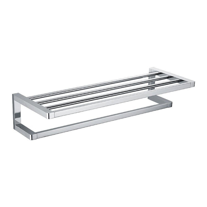Eneo Towel Rack with Rail (Chrome)